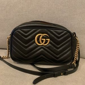 Gucci Marmont small matelasse shoulder bag